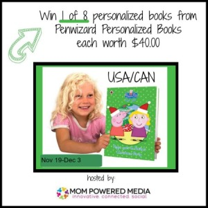 Win a Peppa Pig Personalized Book From Penwizard!